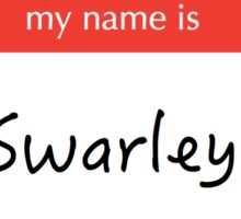 Swarley Sticker