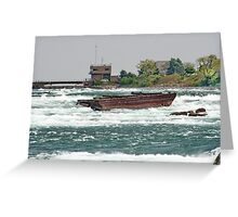 Niagara Shipwreck Greeting Card