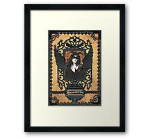 Gothic Masquerade Framed Print