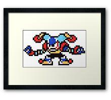 clown man Framed Print