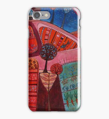 Starry garden iPhone Case/Skin