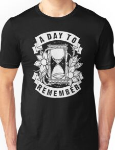 A Day to Remember Hourglass Funny Black Men's Tshirt Unisex T-Shirt