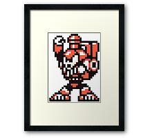 charge man Framed Print