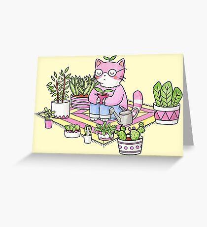 Cacti Meditation Greeting Card