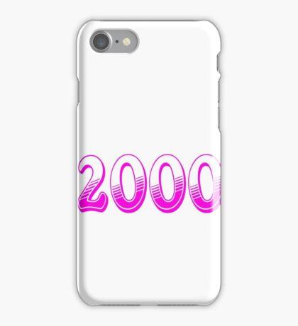 Born  in 2000 iPhone Case/Skin