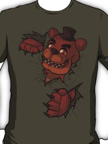 Here's Freddy! Shirt/Hoodie/Sticker T-Shirt