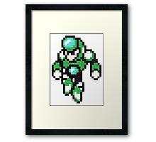crystal man Framed Print