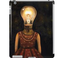 Light Headed iPad Case/Skin