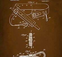Firefighter Belt Patent 1911 by Patricia Lintner