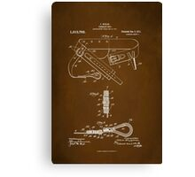Firefighter Belt Patent 1911 Canvas Print