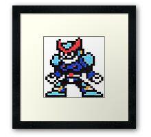 freeze man Framed Print