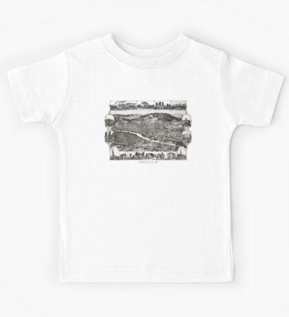 Corning - New York - 1882 Kids Tee