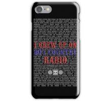 I Grew Up On 80s Country Radio (black phone case) iPhone Case/Skin