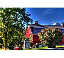 Barn and Out-Buildings Brunner Family Farm Photographic Print