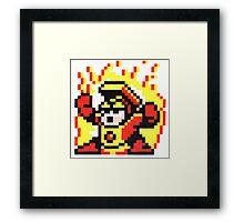 heat man Framed Print