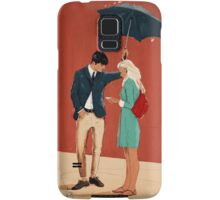 Broadway Bus Stop Samsung Galaxy Case/Skin