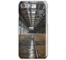 Large industrial interior in a cool style iPhone Case/Skin