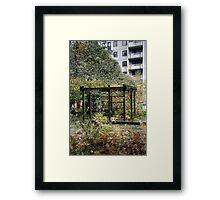 10.10.2014: Abandoned Playground Framed Print