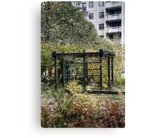 10.10.2014: Abandoned Playground Canvas Print