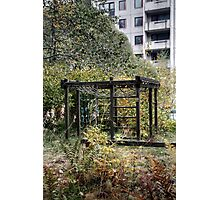 10.10.2014: Abandoned Playground Photographic Print