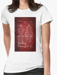 Fire Hydrant Patent 1931 Womens Fitted T-Shirt