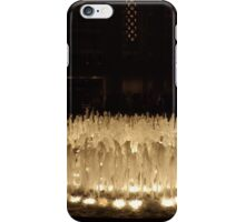 The Lincoln Center Fountain at Night, New York City  iPhone Case/Skin