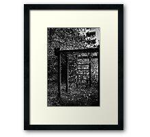 10.10.2014: Abandoned Playground II Framed Print