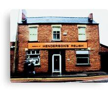 Hendersons Relish Canvas Print