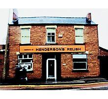 Hendersons Relish Photographic Print