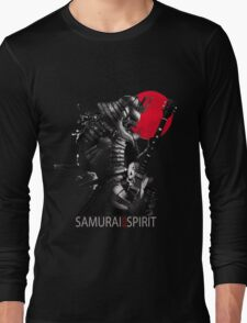 Samurai Rock Spirit Long Sleeve T-Shirt