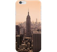 New York City, Manhatten Skyline iPhone Case/Skin