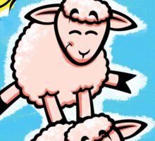 HeinyR- Sheep Friends Sticker