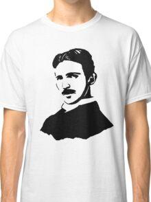 Nikola Tesla Stencil Classic T-Shirt