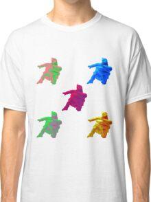 Statue Dabbing Multicolor Classic T-Shirt