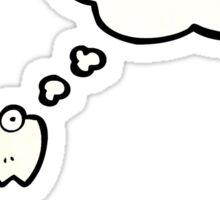 cartoon contract monster Sticker