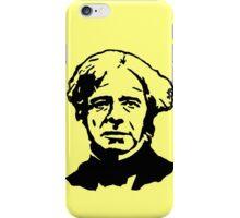 Michael Faraday Stencil iPhone Case/Skin