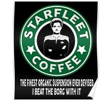 There's Janeway's Coffee in That Nebula! Poster