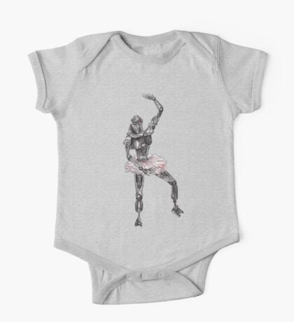 Cute Cylon Ballerina One Piece - Short Sleeve