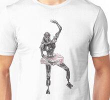 Cute Cylon Ballerina Unisex T-Shirt