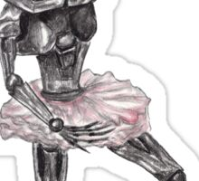 Cute Cylon Ballerina Sticker