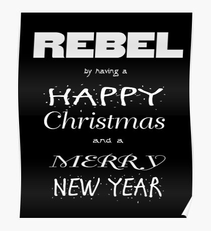 Rebel Christmas Poster