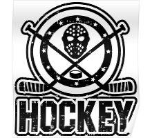 Hockey Tee Poster