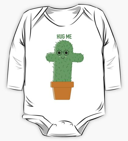 Cactus with glasses One Piece - Long Sleeve
