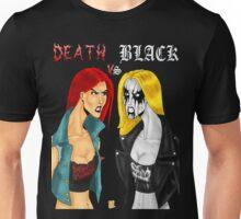 Death Metal Vs. Black Metal: Battle Of The Metals T-Shirt