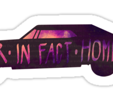 They were never, in fact, homeless - SPN STICKER/CASE Sticker
