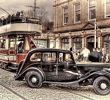 Paisley District Tram - Hand Tinted Effect by © Steve H Clark Photography