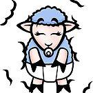 HeinyR- Baby Boy Sheep by cadellin