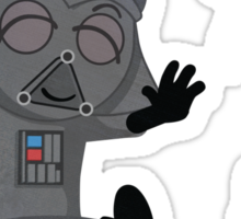 Star Wars babies - inspired by Darth Vader Sticker