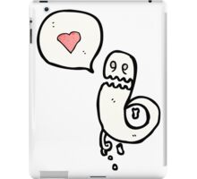 ghost in love cartoon iPad Case/Skin
