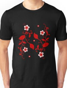 Floral Print - Design 2 Unisex T-Shirt